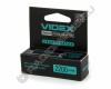 Аккумулятор VIDEX 18650 2200mAh с защитой (1/20/160)