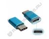 Переходник гн. micro USB - шт. TYPE-C