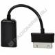 Переходник гн. USB - шт. 30 pin 15см A-OTG-AF30P-001
