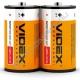 Батарейка VIDEX R20 / D (2/24/288)