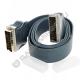 Шнур DeLink SCART - SCART 21pin Premium 1.5м