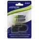 Аккумулятор ENERGENIE  R-03/AAA/550 mAh BL*2 с mini USB