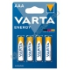 Батарейка VARTA LR03 ENERGY ААА (4/40/200) алкалиновая