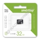 Карта памяти microSDHC SMARTBUY 32GB class 10 без адаптера