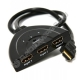 Переключатель шт.HDMI - 3 гн. HDMI 0.5м