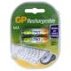 Аккумулятор GP R-03/AAA/750 mAh (2/20)