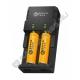 Зарядное устройство HD-8863i-2USB для акк. 18650, 14500, 16340