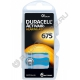 Батарейка DURACELL ZA675 / PR44 1.45V ( 6/120 )