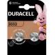 Батарейка DURACELL CR 2032 BL2 ( 2/20 )