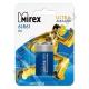 Батарейка MIREX 6LR61 ( 1/12/240 ) АЛКАЛИНОВАЯ