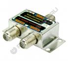 Разветвитель FR2 на 2 ТВ под F штекер (Connector)