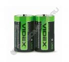 Батарейка VIDEX LR20 / D (2/12/144)