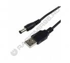 Кабель шт. USB A - шт. 5.5*2.1мм 1,5м SELENGA