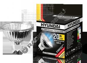 Лампа Hyundai  MR16 12V-20W-GU5.3