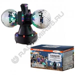 Зеркальный шар Funray MB-2, диам.2*9см, 32 светод. 220B