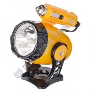 Фонарь 5 LED NEW GALAXY авто с магнитом, от прикуривателя