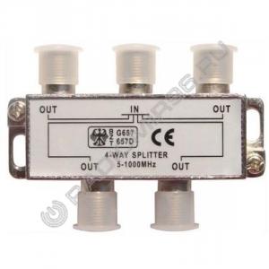 Краб(splitter) на 4TV  (5-1000MHz)