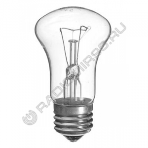 Лампа накаливания К50 Б240-95Вт Е27 ГРИБОК