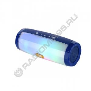 Портативная Bluetooth колонка TG165 ГОЛУБОЙ