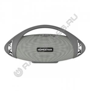 Портативная Bluetooth колонка HOPESTAR H37 СЕРЫЙ