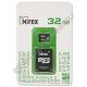 Карта памяти microSDHC MIREX 32GB с адаптером (class 10)