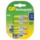Аккумулятор GP R-03/AAA/1000 mAh (4/40/400)