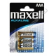 Батарейка MAXELL LR03 ( 4/48/960 ) блистер