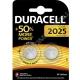 Батарейка DURACELL CR 2025 BL2 ( 2/20/200 )