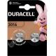 Батарейка DURACELL CR 2016 BL2 ( 2/20/200 )