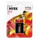 Батарейка MIREX 6F22 ( 1/12/240 ) СОЛЕВАЯ