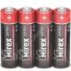 Батарейка MIREX R6 ( 4/60/1200 ) shrink СОЛЕВАЯ