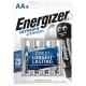 Батарейка ENERGIZER LR6 ULTIMATE LITHIUM ( 4/48 )