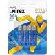 Батарейка MIREX LR03 ( 4/96/960 ) блистер АЛКАЛИНОВАЯ