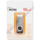 USB флэш-накопитель MIREX 16GB SWIVEL BLACK