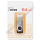 USB флэш-накопитель MIREX 64GB SWIVEL BLACK