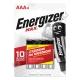 Батарейка ENERGIZER LR03 MAX ( 4/48 )