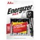 Батарейка ENERGIZER LR6 MAX ( 4/96 )