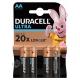Батарейка DURACELL LR6 ULTRA(TURBO) 4BL ( 4/40 )