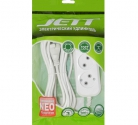 Сетевой удлинитель JETT РС-2-10 10м ПВС 2*0,75