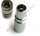 Штекер ТВ резьбовой (P925C)