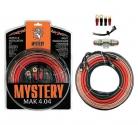 Набор проводов для автоусилителя MYSTERY MAK 4.04