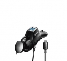Автозарядка DREAM DRM-SM01 12-24В микро USB 1м 2,4A 2USB