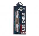 Кабель USB шт. A - шт. B 1,8м АТКОМ АТ3786 блистер