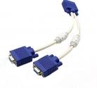 Разветвитель шт. VGA - 2 гн. VGA 0,1м пассивный AT0800