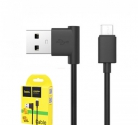 Кабель USB шт. A - шт. micro USB 1м HOCO UPM10 L ЧЁРНЫЙ