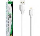 Кабель шт. USB A - шт. Lightning 1м LDNIO LS371 2.1A