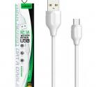 Кабель USB шт. A - шт. micro USB 1м LDNIO LS371 2.1A
