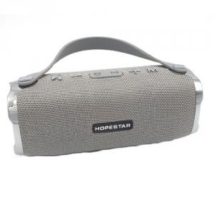 Портативная Bluetooth колонка HOPESTAR H24 СЕРЫЙ