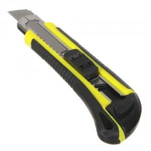 Нож ЕРМАК 641-091 универсальный 18мм выдвижные лезвия