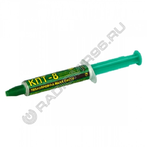 Паста теплопроводящая КПТ-8 10г шприц Connector (1/10)